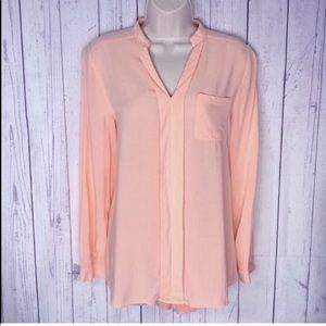 🔷BOGO🔷🆕 Spense peach high low popover top small